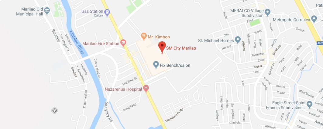 Store Locator Paras Alter Station We Measure To Satisfy - Marilao map